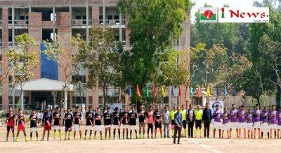 মুজিববর্ষ আন্ত: বিভাগ গোল্ডকাপ ফুটবল টুর্নামেন্ট এ আবছারের জোড়াগোলে বাংলা বিভাগের জয়