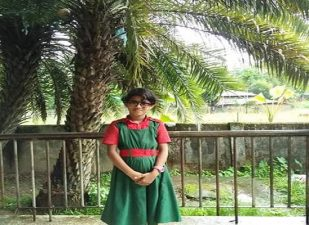 জেলার শ্রেষ্টত্বের মুকুট ছিনিয়ে নিল মাঝির কাটা সঃ প্রাথমিক বিদ্যালয়ের মেধাবী ছাত্রী নোভা